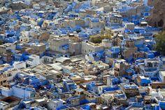 The Blue City, Jodhpur, India