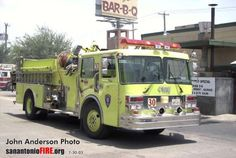 San Antonio Fire Department FMC Engines (all retired from service)