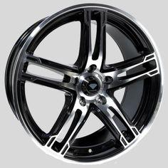 DIAMOND PILOT BLACK POLISHED alloy wheels at…