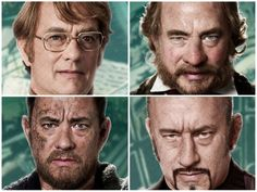 tomhanks_cloudatlas Tom Hanks seems to appear the most often throughout the film, ranging between characters like a scientist to a doctor to an actual murderer.