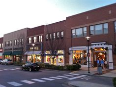 Hill Center Green Hills, the perfect blend of Main Street atmosphere and upscale attitude. // Anthropologie