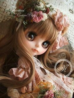 ブライス画像♡ (@buraisu_love) | Twitter Pretty Dolls, Beautiful Dolls, Japanese Nail Art, Gothic Dolls, Anime Dolls, New Dolls, Custom Dolls, Ball Jointed Dolls, Doll Face