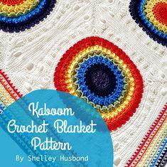 Kaboom Crochet Blanket ebook by Shelley Husband