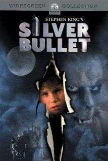 The first scary movie I ever watched. Silver Bullet Dino De Laurentiis Co. and Famous Films with Corey Haim, Gary Busey, and Everett McGill. Another screen adaptation of a Stephen King story . this time the book Cycle of the Werewolf. 80s Movies, Great Movies, Movies To Watch, I Movie, Awesome Movies, Movies 2019, Awesome Stuff, Horror Movie Posters, Horror Movies