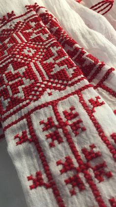 Hand Work Embroidery, Hand Embroidery Stitches, Hand Embroidery Designs, Crochet Stitches, Embroidery Patterns, Cross Stitch Patterns, Knitting Patterns, Kutch Work, Needlework