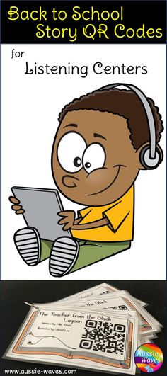 Use QR Codes to make independent listening activities great fun for literacy groups and centres.