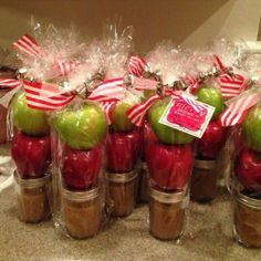 Apple & Salted Caramel Dip for Teachers or Christmas!