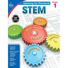 Applying the Standards: STEM for fifth grade offers 64 pages of highly engaging STEM tasks. It includes a problem-solving rubric and guided pages that walk students through completing each step of the STEM process. Music Games, Bridge Engineering, Higher Order Thinking, Carson Dellosa, Stem Science, Science Experiments, Science Topics, Mad Science, Weird Science