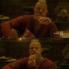 Bjorn's facial expressions