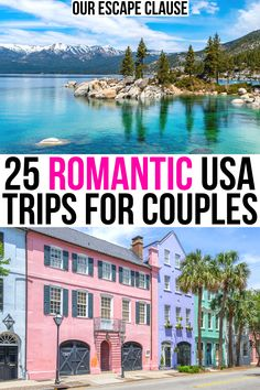 Looking for the most romantic trips in the US? From beautiful cities to mountain escapes, here are the best places to visit in the USA for couples! romantic getaways in usa for couples | honeymoon destinations in usa | usa honeymoon destinations | usa getaways for couples | best places to go in us for couples | most romantic places in usa | prettiest places in usa | usa travel destinations for couples | usa romantic getaways | most romantic vacations in usa | romantic vacations united states
