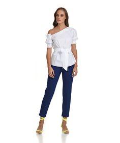 Παντελόνι κρεπ 7/8 μπλε | Vaya Fashion Boutique Spring Summer, Collection