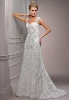 Maggie Sottero Spring 2012 - Style S5300 Lorie with Floral Belt