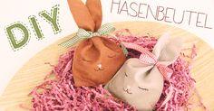 Zum Video    Die kleinen Hasen Geschenkbeutelchen sind perfekt wenn ihr zu Ostern eine Kleinigkeit verschenken möchtet, die aber toll ver...