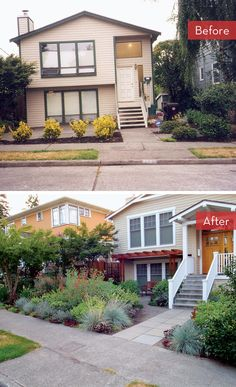 lawn free front yard makeover