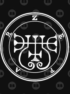 T-shirt 'Sceau Demon Zepar' par Talismania Wiccan, Magick, Witchcraft, Demonology, Satan, Les Oeuvres, T Shirt, Symbols, Angel