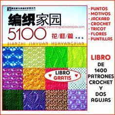 libro con patrones de tejido gratis para descargar
