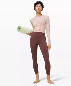 Gather and Grow Long Sleeve | Women's Long Sleeve Tops | lululemon Long Sleeve Tops, Long Sleeve Shirts, Workout Tops For Women, High Rise Pants, Casual Dresses, Cotton Fabric, Sleeves, How To Wear, Lululemon