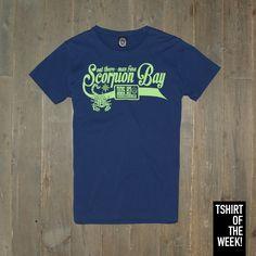 Cosa ne dite dello stile #college della #TshirtOfTheWeek di questa settimana? #SS2015 Acquistala subito >> http://www.scorpionbay.com/it/store/uomo/t_shirt/t_shirt-94424