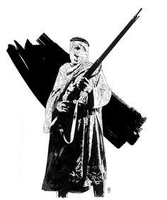 Tim Bradstreet,'Desert Bandit,' viahttp://rawstudios.invisionzone.com/index.php?showtopic=658&page=4