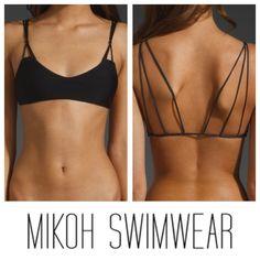 Mikoh Swimwear Kona Top, I love how delicate the back looks.