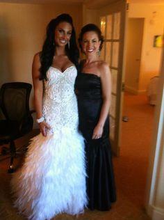 I kinda like this dress, it's different! Steve yearick wedding dress