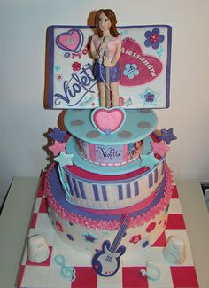 Violetta party ideas on Pinterest Music Themed Parties ...