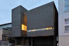 重量鉄骨造の家 鉄骨造 S造 施工例 コートヤードを家の中心に アーキッシュギャラリー