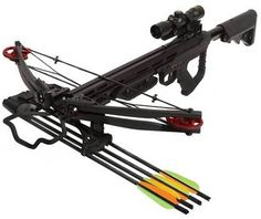 Smoke Crossbow Package - $699.99 The SMOKE™ features picatinny rail, 5 position folding ergonomic front foregrip, flashlight, adjustable AR style stock, embroidered sling front mounted quiver and styling. A short bow with a long powerstroke, It delivers a 425 grain bolt at a blistering 330 fps with over 102 ft. lbs. of kinetic energy. It's amazingly quiet, vibration free and sure to be one of the hottest new crossbows to hit the market!
