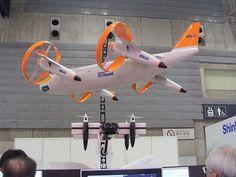 QTW-UAS FS4。日本に拠点を置くGH Craft Ltd.が発表してるVTOL(垂直離着陸)に対応するUAS(無人航空機システム)の一つ。ジャイロやGPSを使った高精度自律航行システムによるフライトを行える。飛行時間は60分。