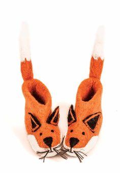 Zapatillas infantiles originales zorro - minimoi