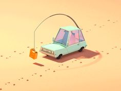 The story of Jerry Car on Behance