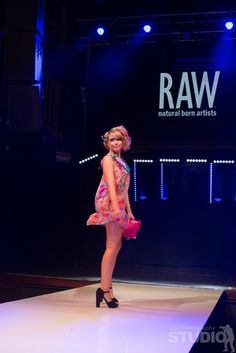 On the runway at RAW - Brisbane February showcase, Cusp.