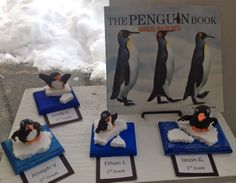 Crayola Model Magic Penguins-2nd Grade-styrofoam ice-Art with Mr. Giannetto Blog