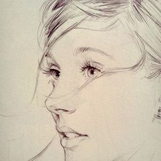 David Malan repinned from blog Brilliant Anyway: drawing up close