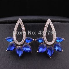 Cheap earrings factory, Buy Quality earrings sapphire directly from China earings Suppliers: