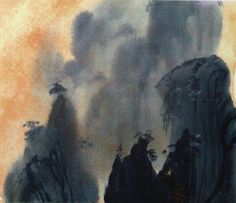 Visual development artwork for Disney's MULAN.