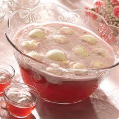 Knott's Cran-Raspberry Snowball Punch Recipe