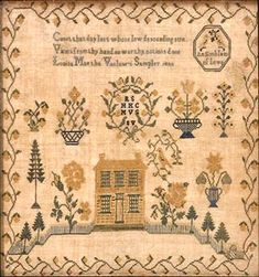 Telling Their Stories: 19th Century Samplers and Silk Needlework