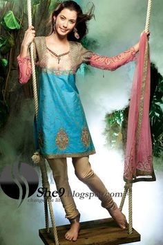 Different Dresses with Different Salwar Designs