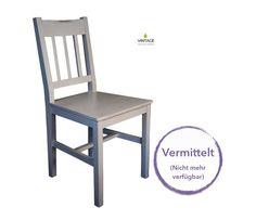 Vintage - vom Stuhl aufwärts: Stuhl Luise weiss
