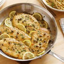 Capers, white wine and lemon make this easy chicken piccata recipe burst with European flavors.