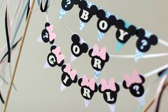 Baby shower decorations Baby Mickey Mouse от RaisinsPartySupplies