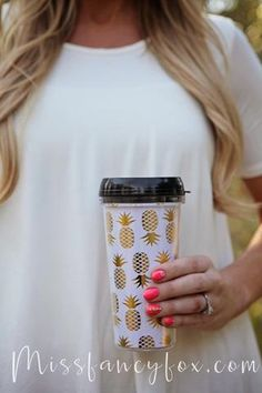 This adorable 16oz travel coffee mug features a fun leopard print. Hand wash only, do not leave submerged in water. Miss Fancy Fox Exclusive!