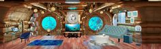 My Underwater World, a room created by our user @emilymstein found on http://myWebRoom.com/style-gallery?utm_content=bufferb9d8b&utm_medium=social&utm_source=pinterest.com&utm_campaign=buffer