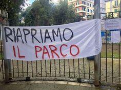 Napoli, il verde negato: riaprite il parco Mascagna!
