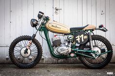 MZ TS 125 Scrambler Motorcycle found on #www.werkshalle.com from WerksMotorcycles Pics from daguruphotography