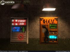 New Screenshots in Mark Foreman's portfolio ( WARNING: SPOILERS ) - The Cafeteria - Black Mesa: Community Forums