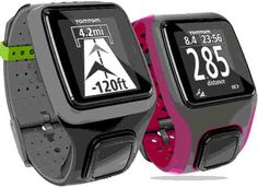 TomTom GPS Sportswatch, an entry level watch with large interface and one button control. #GPSwatches #sportswatches #athleteswatches
