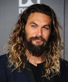Jason Momoa Long Hair - 40 Hot Guys with Long Hair: Sexy Long Hairstyles For Men #longhairmen #menshairstyles #menshair #menshaircuts #menshaircutideas #menshairstyletrends #mensfashion #mensstyle #fade #undercut #barbershop #barber