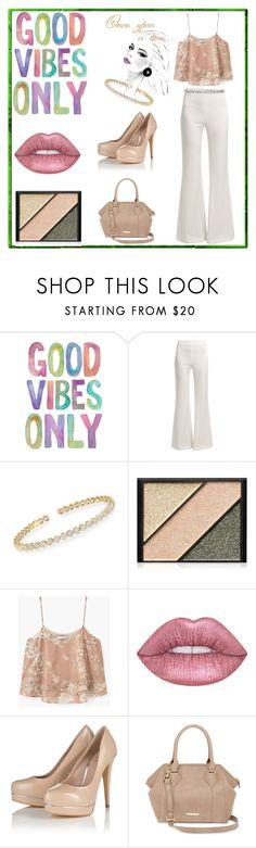 """One Upon A Time There Were Only Good Vibes"" by mochachina1 ❤ liked on Polyvore featuring Galvan, Simon G., Elizabeth Arden, MANGO, Lime Crime, Lipsy, Liz Claiborne, White House Black Market and everydaywear"